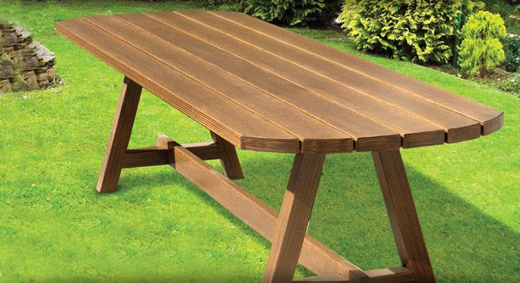Arredo giardino addis davide for Tavoli esterno legno