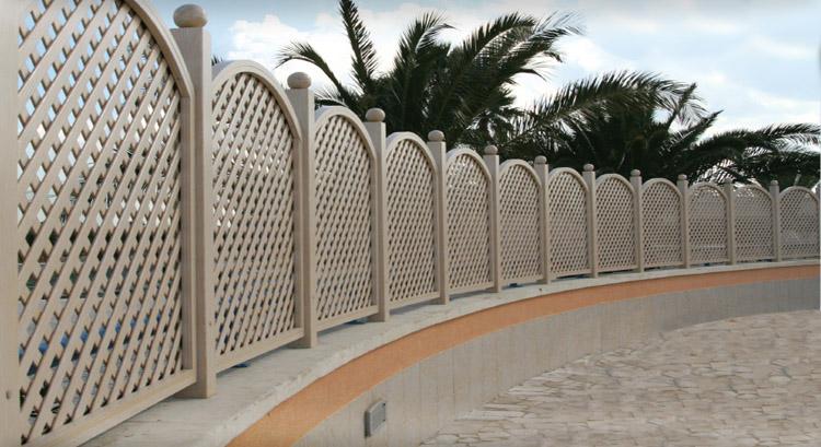 Grigliati e recinzioni addis davide - Recinzioni in metallo per giardino ...