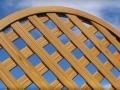 Griglia centinata - maglia 4x4 cm (dettaglio) mod.