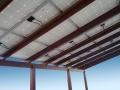 Pergola mod. 150 con pannelli fotovoltaici