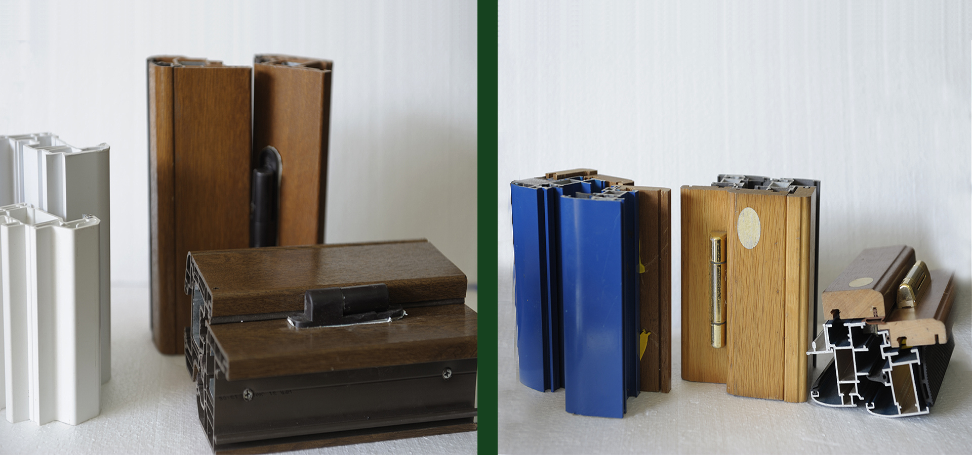 Infissi in alluminio - legno e taglio termico