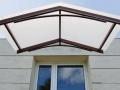 Pensilina House - copertura in policarbonato